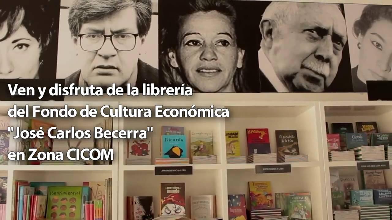 Librería del Fondo de Cultura Económica José Carlos Becerra - YouTube