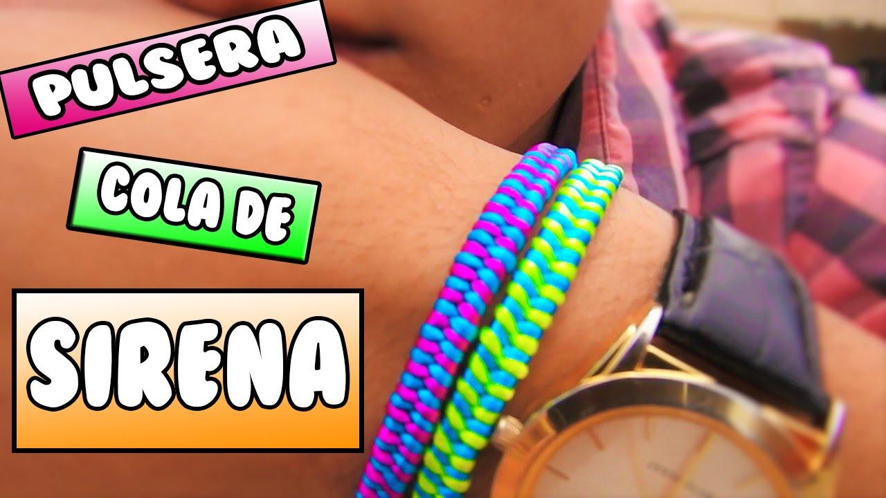 ► Bracelet: MERMAID TAIL || EASY string bracelets