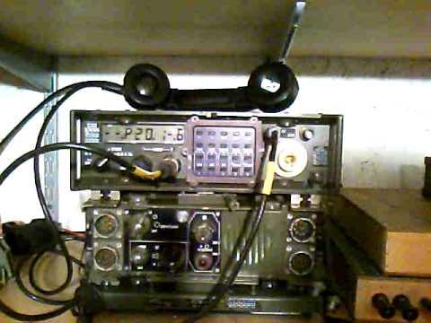 HF Manpack Mil radio Mel PRC-2000