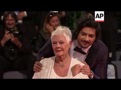 Judi Dench, Stephen Frears Attend Premiere For 'Victoria And Abdul' In Venice
