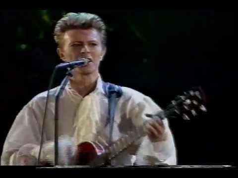 Adrian Belew ft. David Bowie - Pretty Pink Rose live (Tokyo 1990)