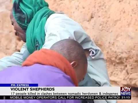 Violent Sheperds - PM Express on JoyNews (19-9-17)