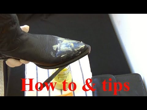 HOW to MAKE  Leather and Wood Protector VERY EASY and CHEAP