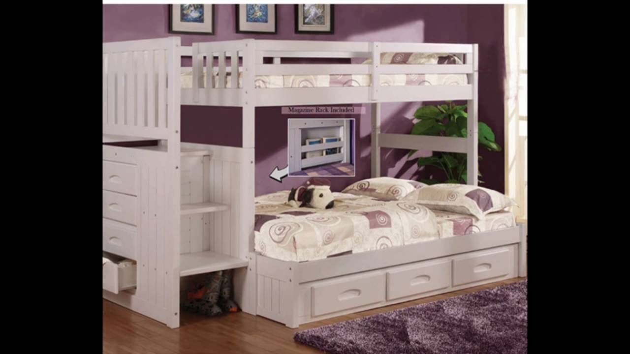 white bunk bed with stairs. white bunk beds with stairs bed s