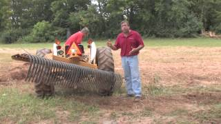 how to use a landscape rake part 2