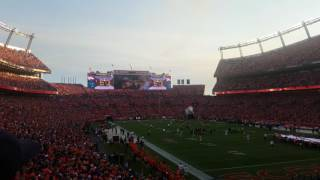 Broncos Vs. Panthers Opening Ceremony
