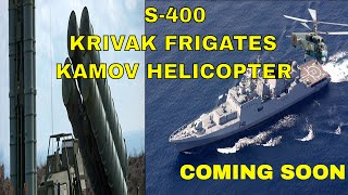 India, Russia finalise deal on frigates, S 400 missile system & Kamov helicopters