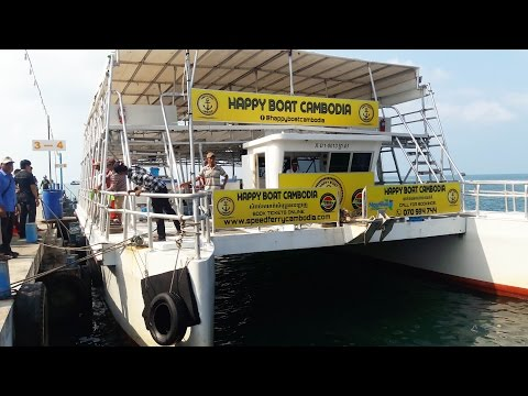 Welcome to Kohrong Island by Happy Boat | Kohrong Travel | Boat trip to Kohrong island in cambodia
