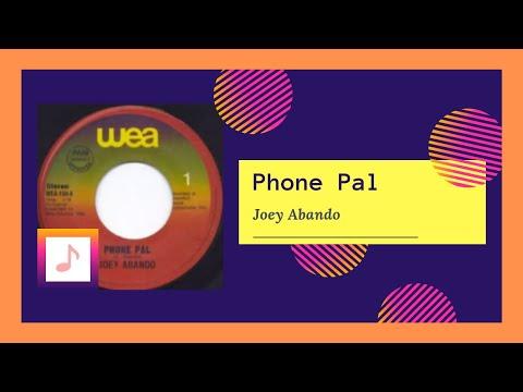 Joey Abando - Phone Pal