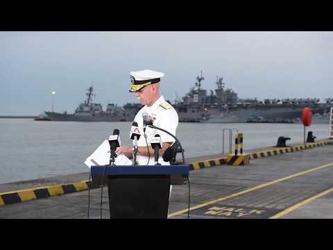 USS John S. McCain (DDG 56) Status Report – Changi Naval Base, Singapore (Aug. 22, 2017)