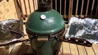 Smoking Pork Baby Back Ribs On The Big Green Egg