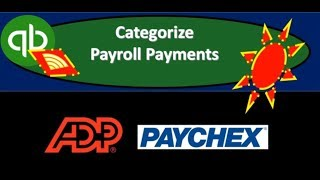QuickBooks Online 2019-Categorize Payroll Payments