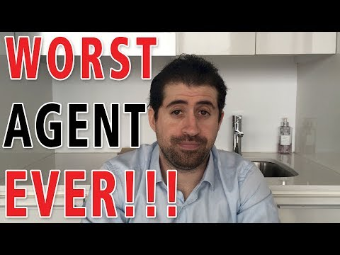WORST TALENT AGENT EVER!  A Nearly Funny Skit