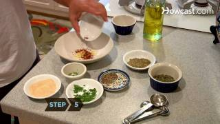 How to Make Flavored Dipping Oils for Bread