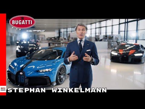 bugatti president stephan winkelmann interview youtube bugatti president stephan winkelmann