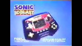Sonic 3D Blast Tiger Electronics Handheld