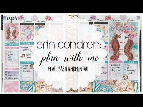 Erin Condren   Plan with Me feat. BasilandmintAU