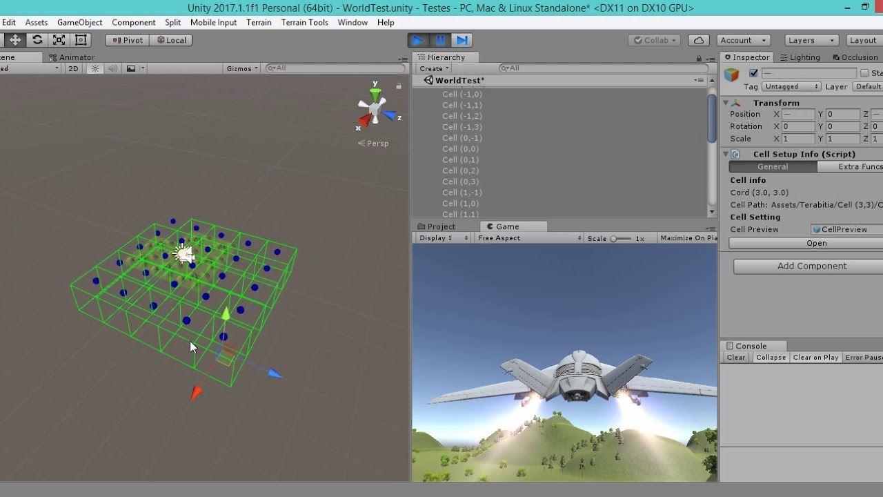 World Stream / Open World Tool (in development) UNITY