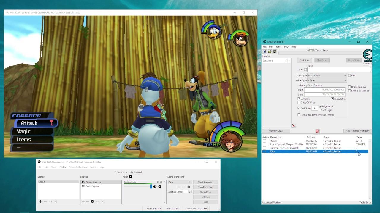 RPCS3 - Vulkan - Kingdom Hearts 1 5 HD ReMIX 60FPS code