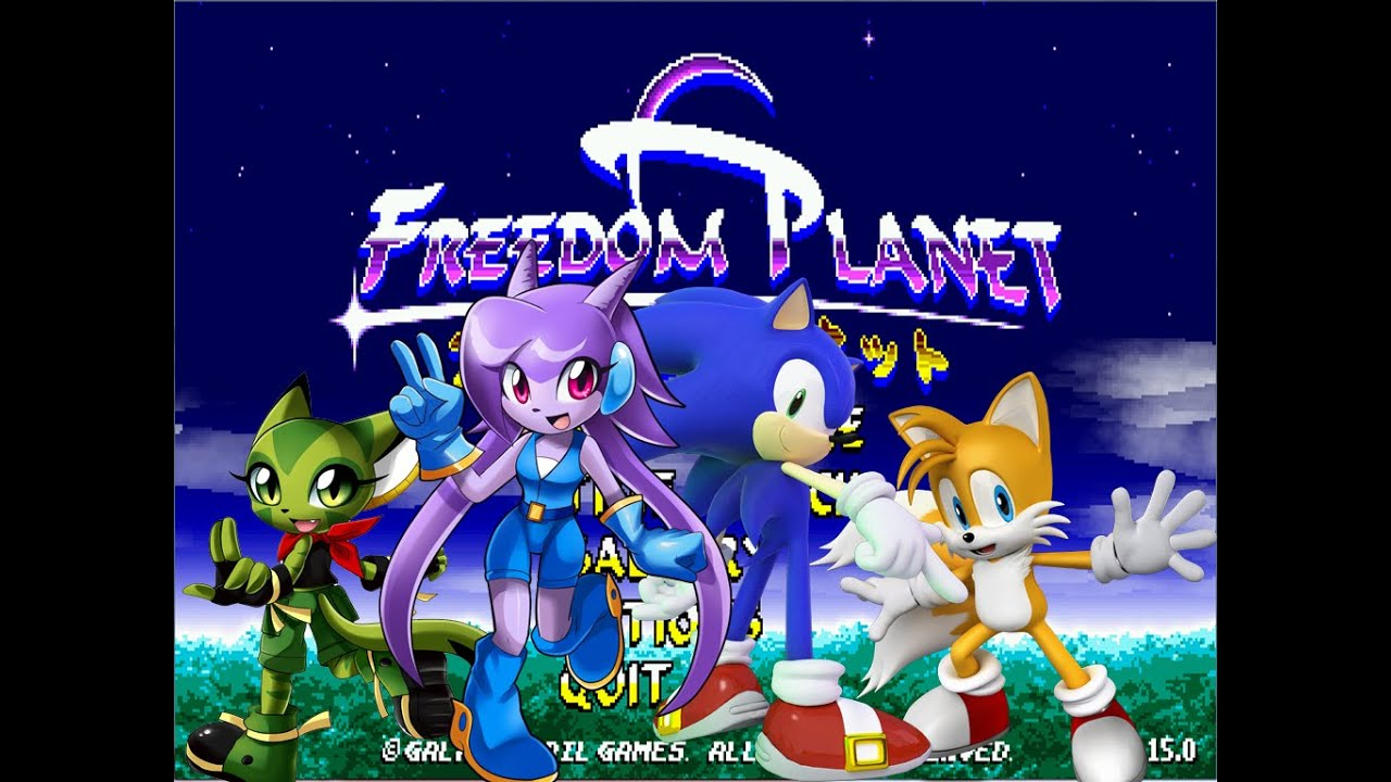 Freedom Planet Sonic