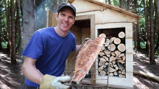 Building a Smoke House - Meat Smoker (at the off grid cabin)