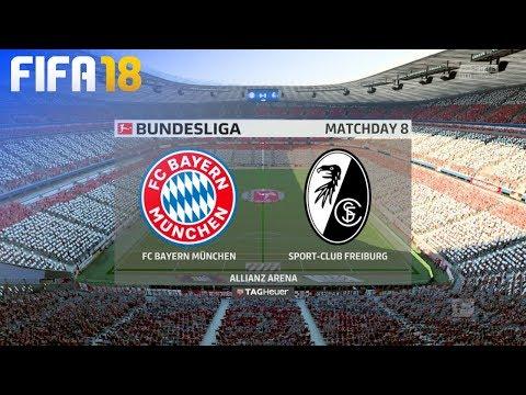 FIFA 18 - FC Bayern München vs. SC Freiburg @ Allianz Arena