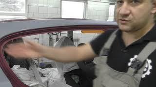 Opel Astra H. Как обклеить авто перед покраской!