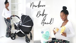 OUR NEWBORN BABY HAUL - SHOPPING FOR BABY K! #35WEEKS
