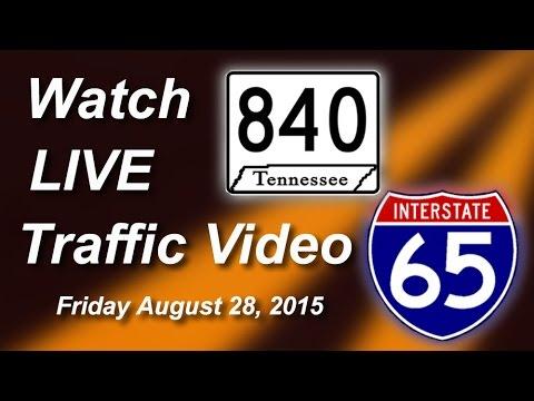 840/I-65 Live, Friday 8-28-2015