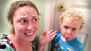 Little Kid Locks Every Door in House!