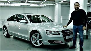 Audi A8 4.2 TDI (D4) Замер разгона, обзор и тест-драйв