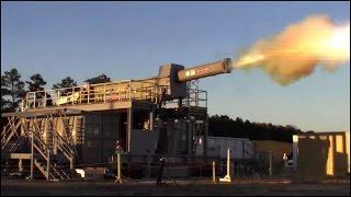Electromagnetic Railgun - First shot at Dahlgren's new Terminal Range thumbnail