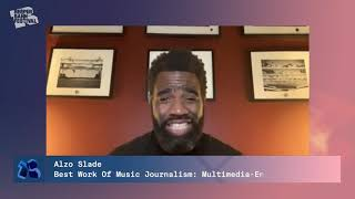 IMJA Winner 2020 Official – Best Work Of Music Journalism: Multimedia (English): Alzo Slade