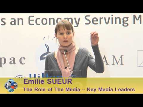 Beirut Conference 2013 - Emilie SUEUR: The Role of the Media - Key Media Leaders