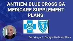 Anthem Blue Cross GA Medicare Supplement Plans Review Video