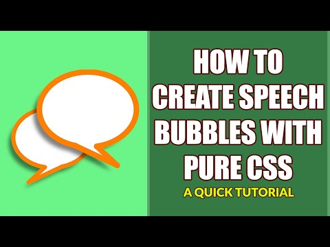 How To Create A Simple Speech Bubble With Pure CSS