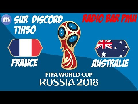 FRANCE - AUSTRALIE -- RADIO BAR PMU - SUR DISCORD