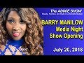 Barry Manilow Media Night Show Opening
