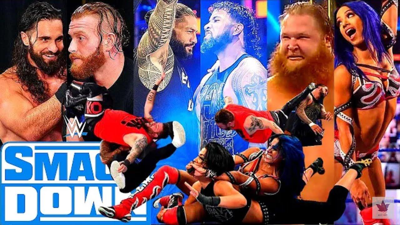 Download WWE SmackDown Highlights 07 November 2020   WWE Friday Night SmackDown Full Highlights 07/11/2020 HD