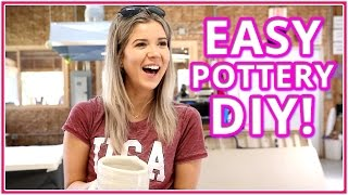 How to make easy Pottery I Camping with Meghan Rienks EP 7