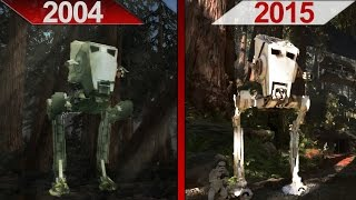 SBS Comparison | Star Wars Battlefront | 2004 vs. 2015 | ULTRA | PC | Part 2