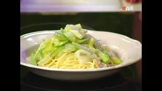 Спагетти с кабачками и сыром + Спагетти с соусом ПЕСТО / Илья Лазерсон / Кулинарный ликбез