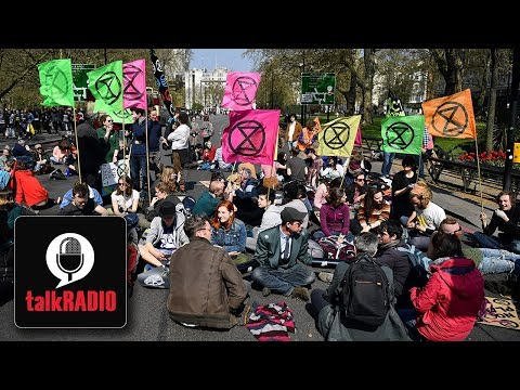Mike Graham goes head-to-head with Extinction Rebellion members