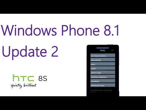 Windows Phone 8.1 Update2 on HTC 8S. Install Windows 10 Preview also.
