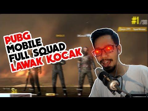 download FULL SQUAD YOUTUBER PALING KOCAK BANG ALEX, BENNYMOZA, ARIS, STOZIE - PUBG MOBILE INDONESIA