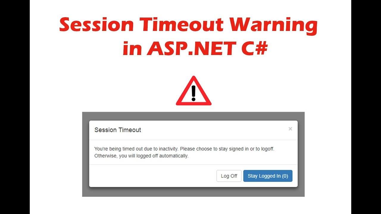 Session Timeout Warning in ASP NET c#