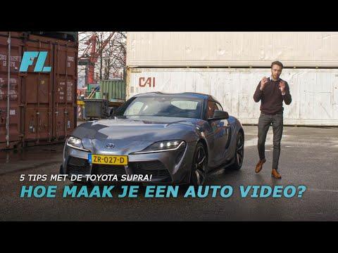HOE MAAK JE EEN AUTO VIDEO? 5 TIPS MET DE TOYOTA SUPRA!
