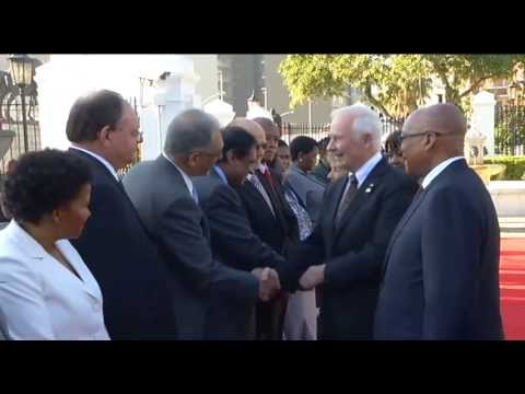 Canada incoming State Visit to South Africa by Governor General David Johnston