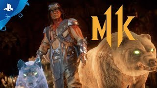Mortal Kombat 11 Kombat Pack - Official Nightwolf Gameplay Trailer | PS4