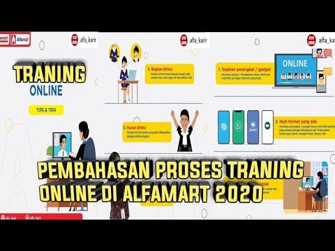 Traning Online Crew Store Di Alfamart I 2020 Youtube